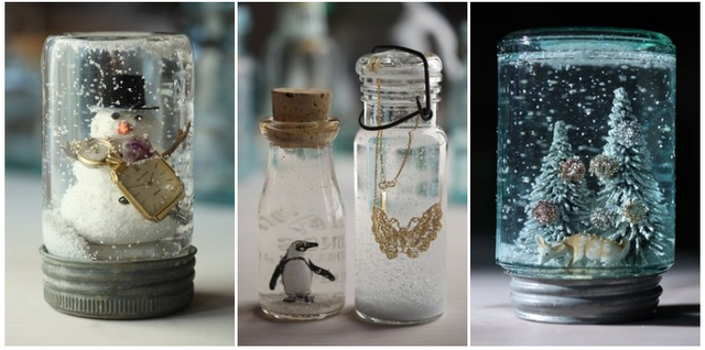 Homemade snow globes brighten any home homemade snow globes brighten