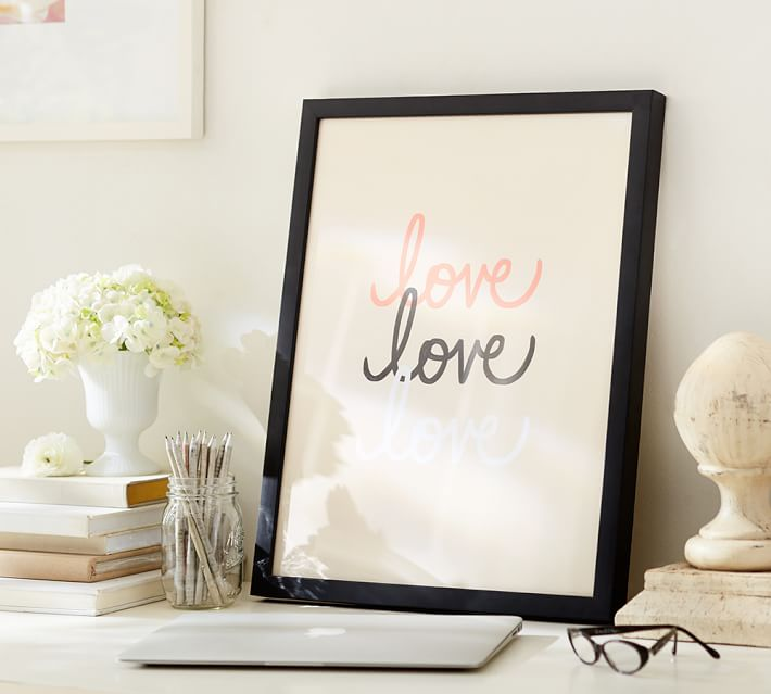 stephanie-sterjovski-framed-print-love-love-love-o