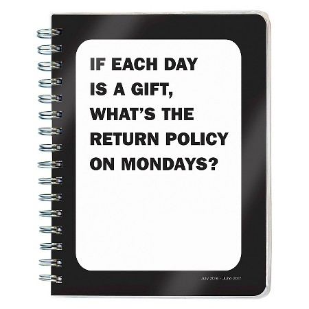 humorous day planner