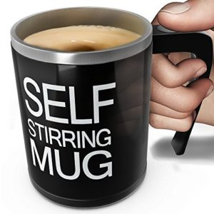 a self stirring mug