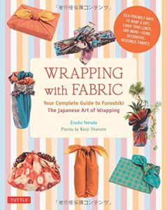 wrapping with fabric book