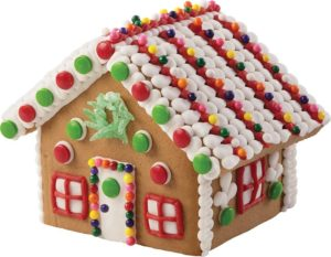 Every party needs a gingerbread house | Image courtesy Amazon seller Wilton Enterprises