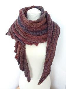 handmade knit scarf