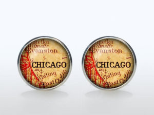 Chicago cufflinks