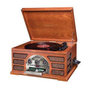 vintage inspired record player