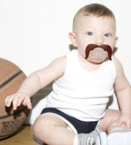 The Cowboy Mustache Pacifier | Image courtesy Amazon seller Mustachifier