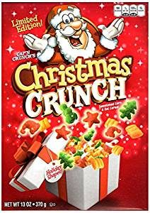 Christmas Cap'n Crunch Cereal
