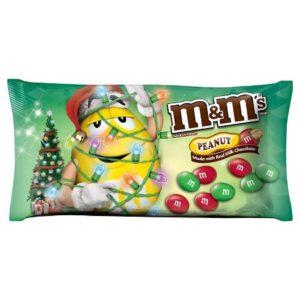 christmas peanut m&ms