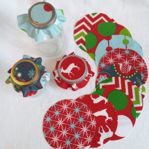 fabric jar toppers