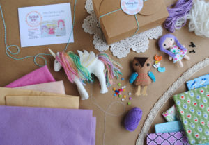felt doll diy kit
