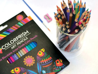 colorful art supplies