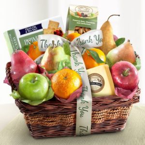 Fruit basket prize