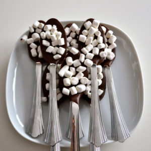 chocolate spoons
