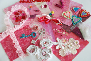 kids' valentine's day diy craft party