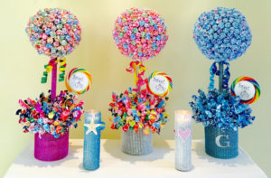 tabletop candy decorations
