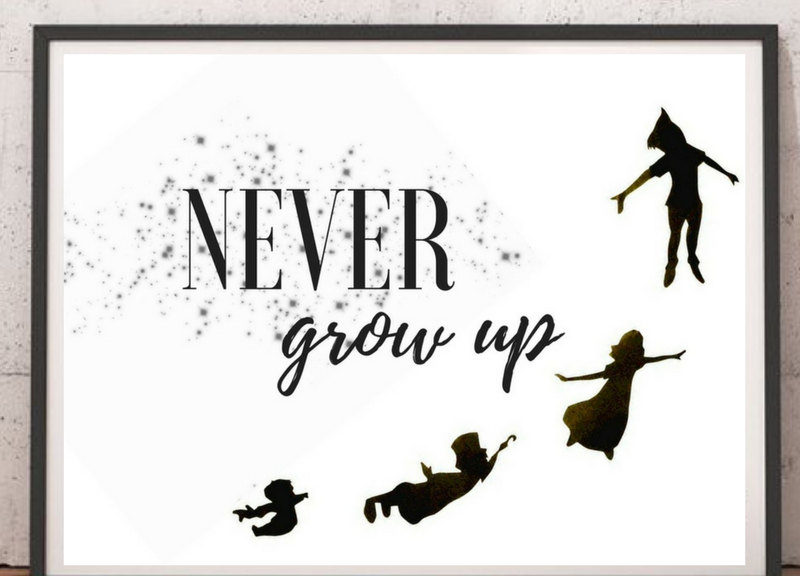 never, ever grow up