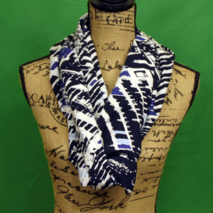 diy handpainted scarf