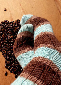 expresso knit sock pattern