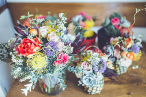 DIY floral bouquet