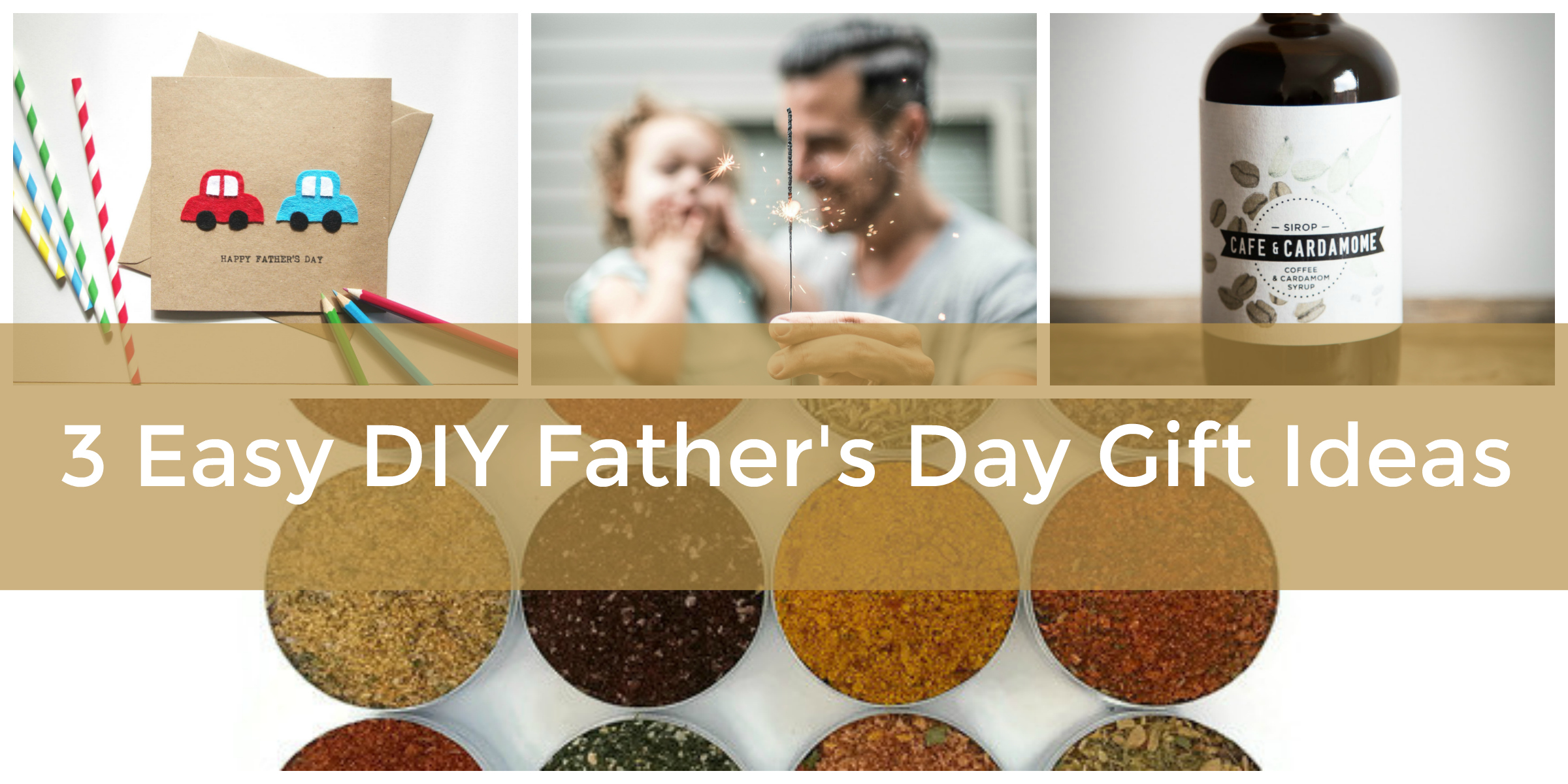 DIY Father\'s Day Gifts from Daughter: Easy Last Minute Homemade Gift ...