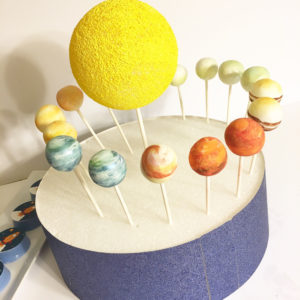 planet party cake