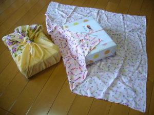 Japanese gift wrap technique