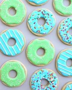 donut sugar cookie recipes
