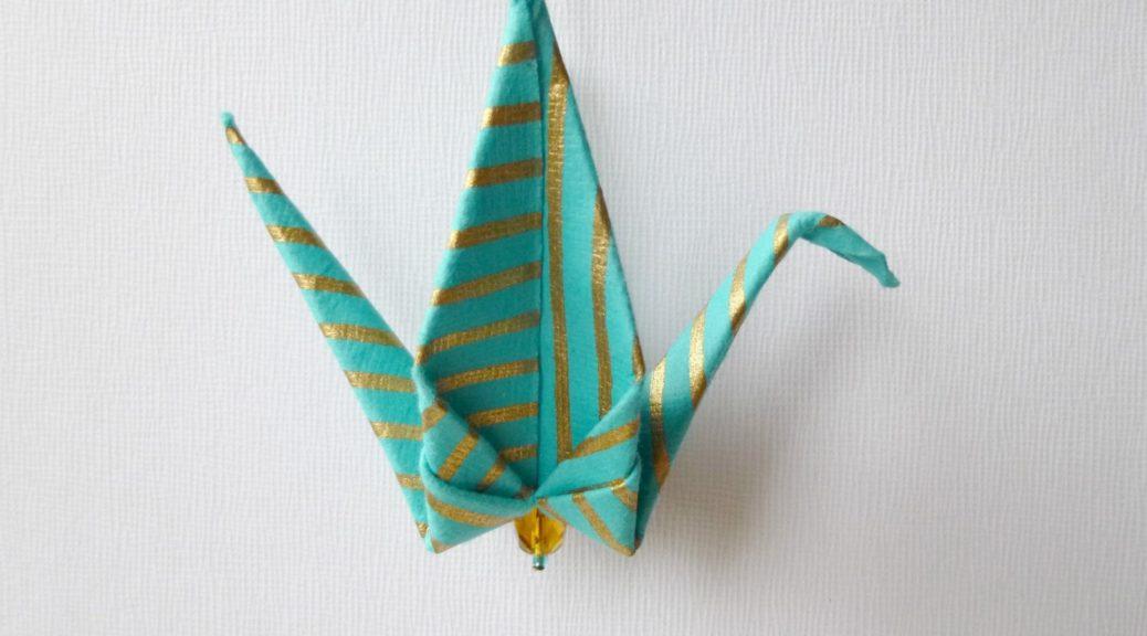 peace crane oseibo gift idea