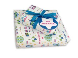 Eid al-Fitr gift wrapping