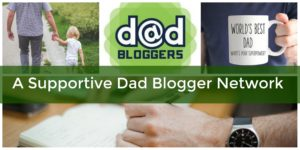 a supportive dad blogger gift exchange