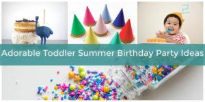 Adorable Toddler Summer Birthday Party Ideas   Elfster Blog