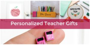 personalized back to school teacher gifts