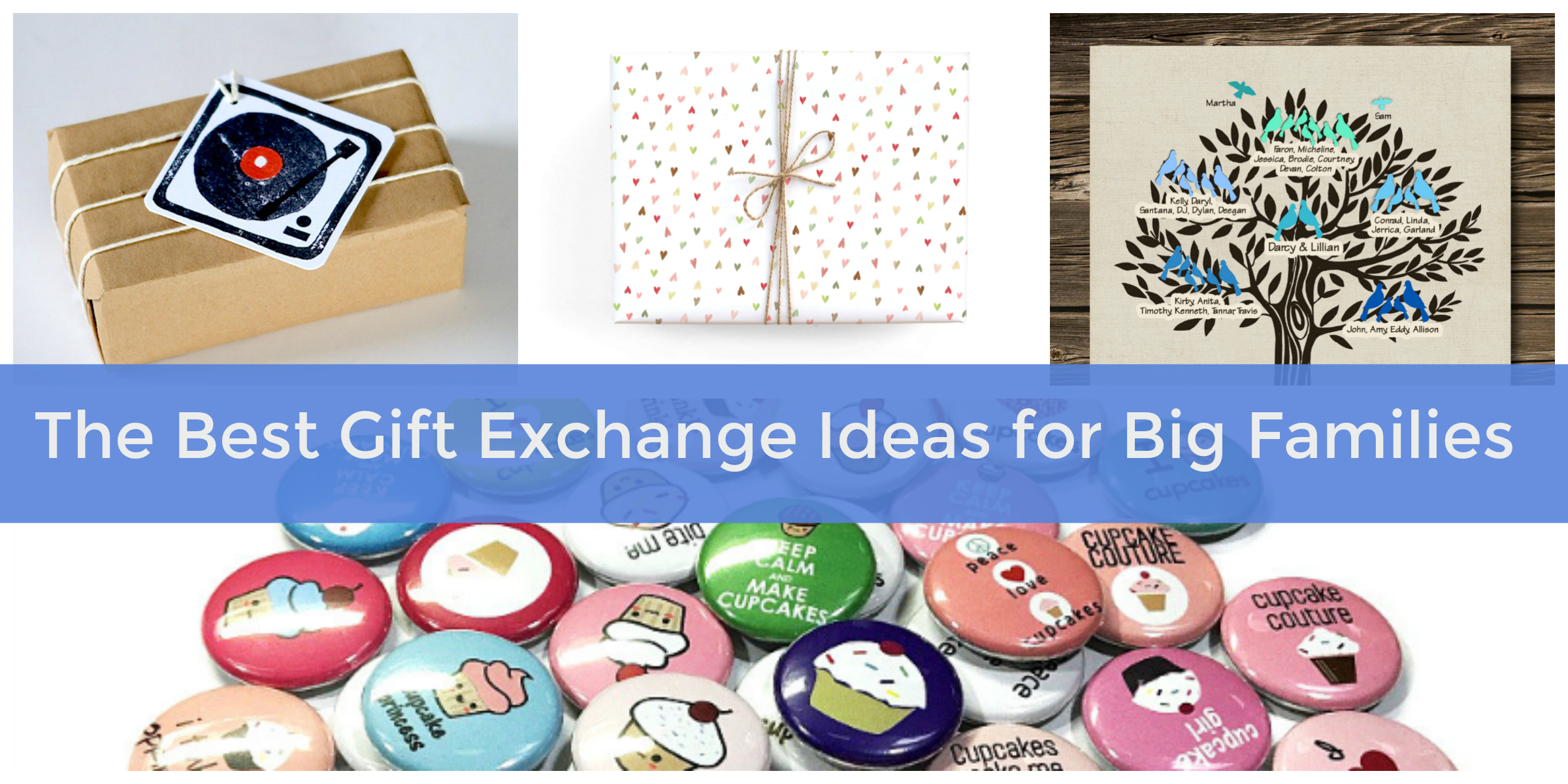 The Best Gift Exchange Ideas For Big Families Hosting Summer Reunions Elfster Blog