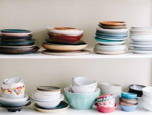 Sometimes, you really do need new dishes…   Image courtesy Unsplash user Brooke Lark