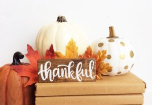 Express gratitude on Thanksgiving.