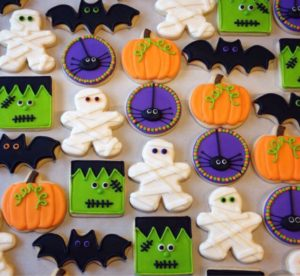 cookies for Halloween treat bags