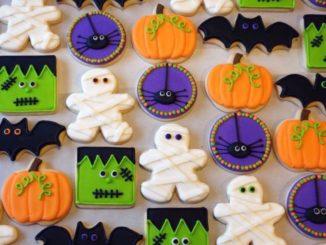 cookies for Halloween treat bags