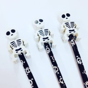 skeleton ideas for halloween treat bags