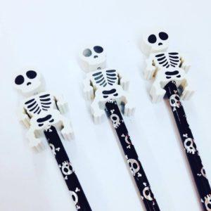 skeleton ideas for halloween treat bags