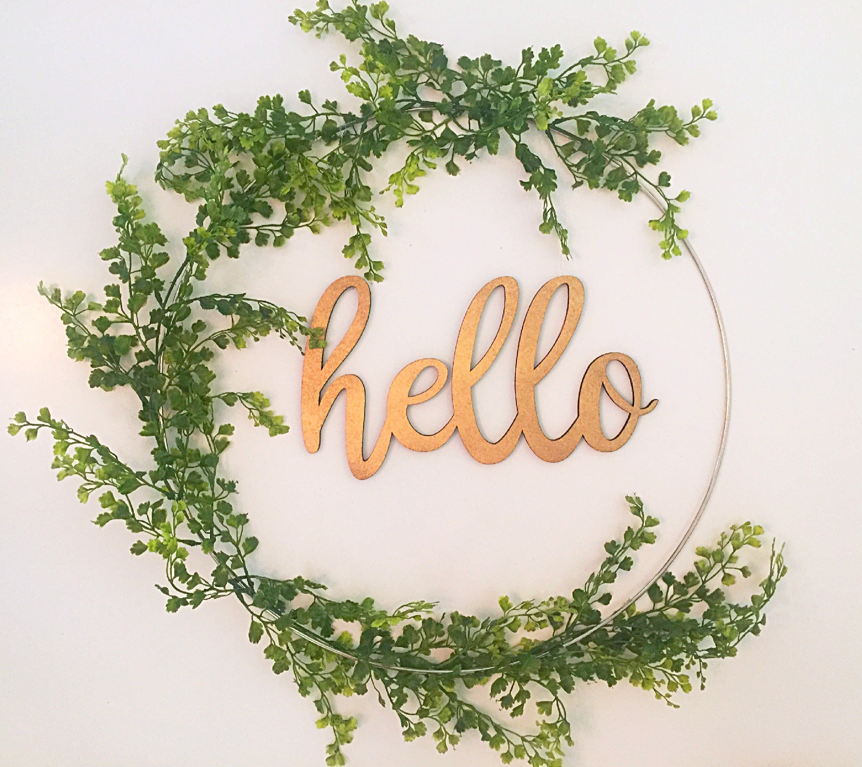 Oh Hello There Image Courtesy Etsy Er Yourhandmadewreath