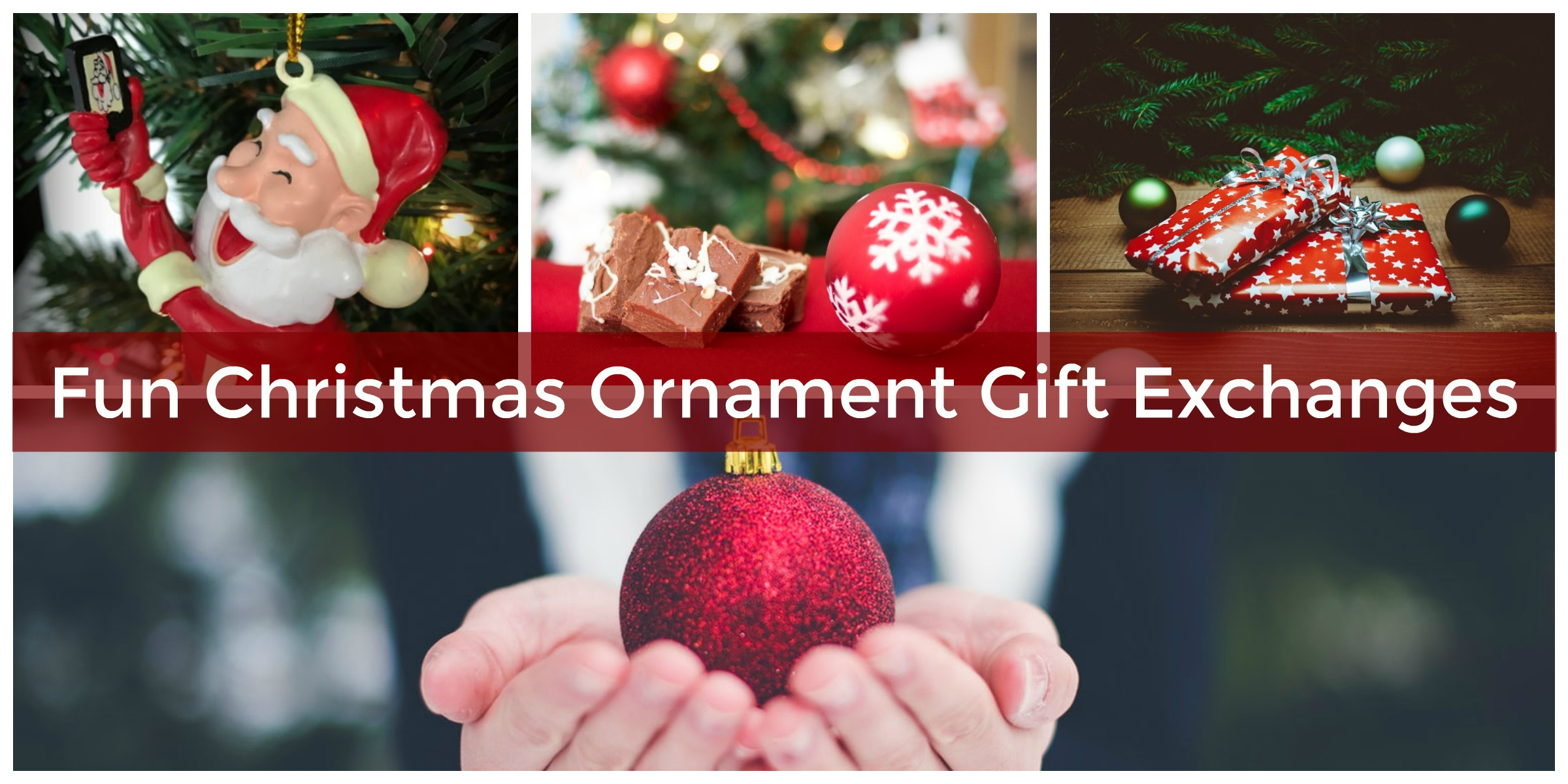 How to Throw a Festive Christmas Ornament Gift Exchange Game Party