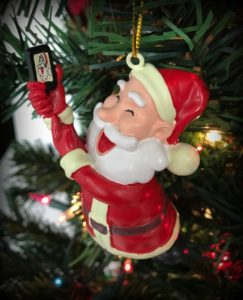 Silly Christmas ornaments