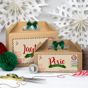 Festive boxes for your ornaments