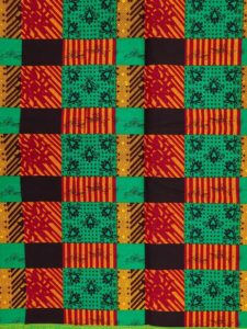Traditional Kente cloth