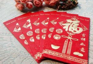 Chinese New Year bingo game.
