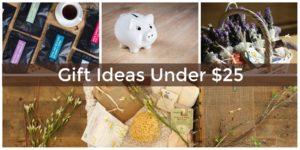 Fun gifts under $25