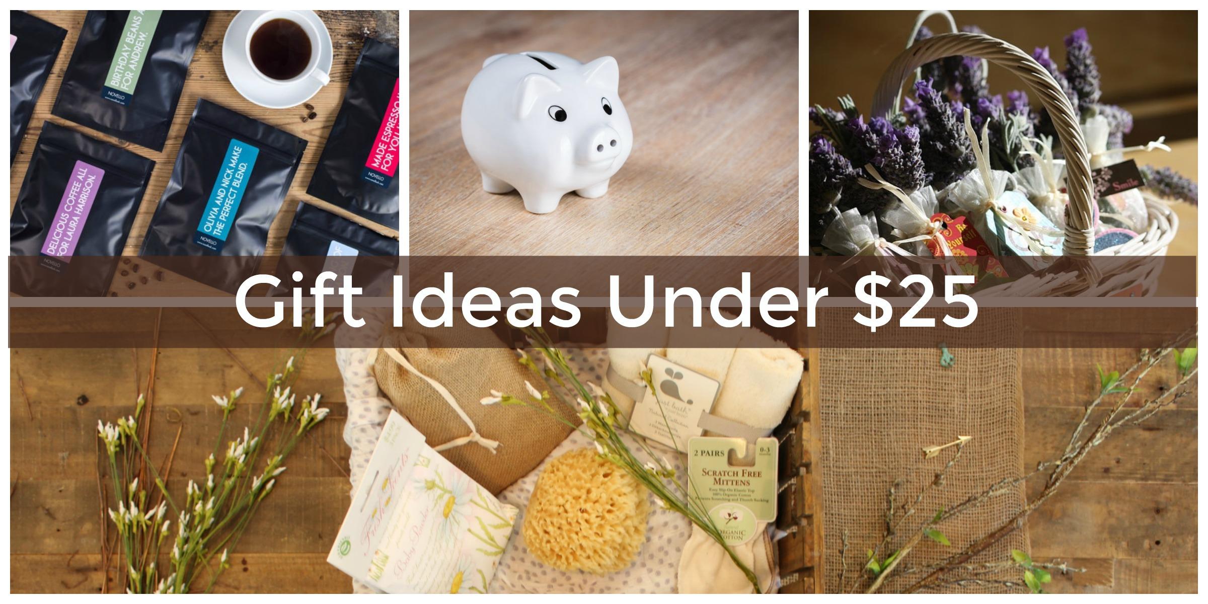 Alternative christmas gift giving ideas