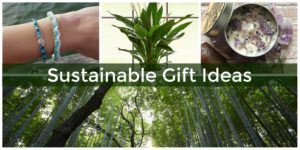Sustainable gift ideas for Earth Day.