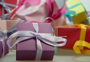 Secret Santa gifts.