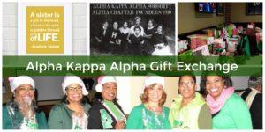 Alpha Kappa Alpha Gift Exchange_banner image